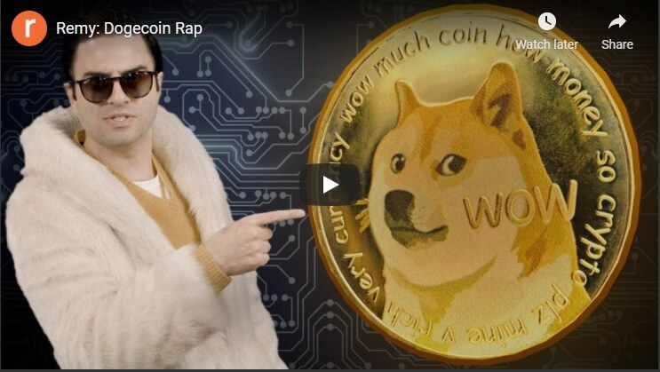 Dogecoin Rap, or how social media can pump a crypto high.