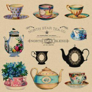 North Star Tea Company advertisement