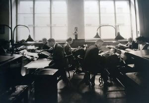 Warburg interior ca 1920-1930