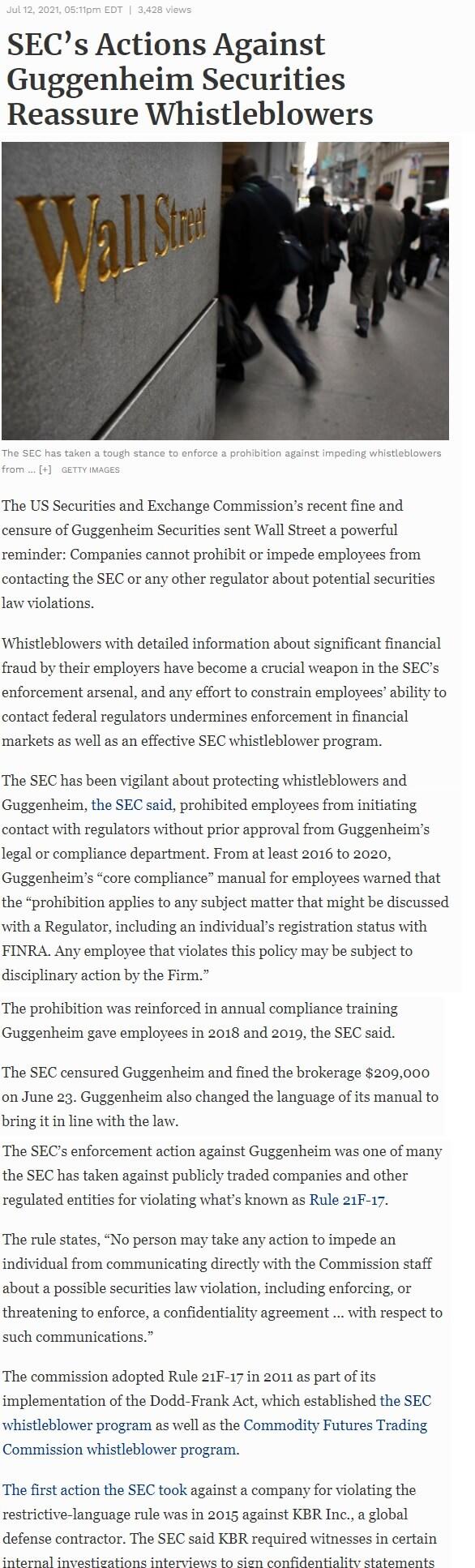 SEC-s-Actions-Against-Guggenheim-Securities-Reassure-Whistleblowers