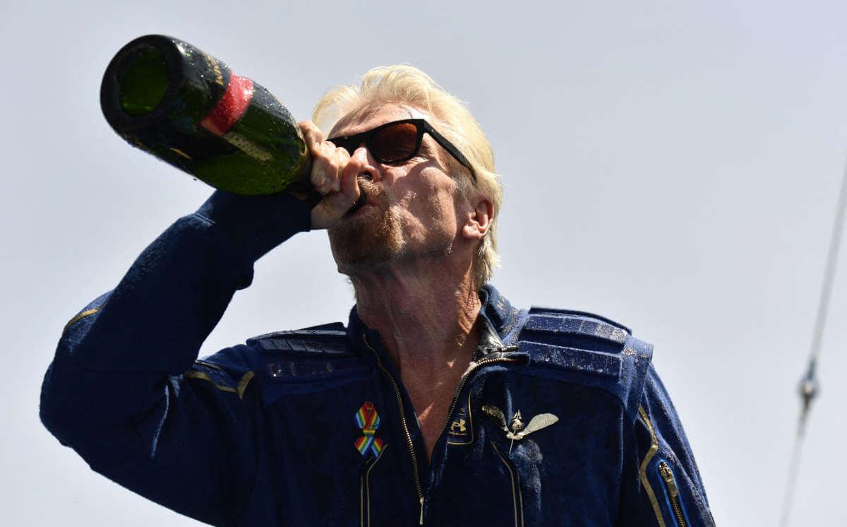 Richard-branson-drinking-Champagne